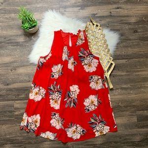 Umgee Shift Dress Floral